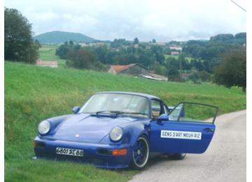Voiture de Gendarmerie Type Oscar Racing